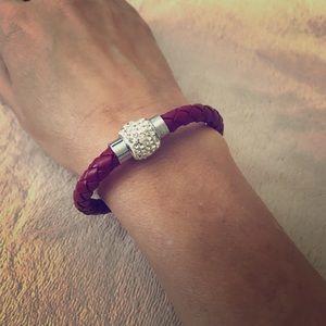 Jewelry - Bracelets- claret red